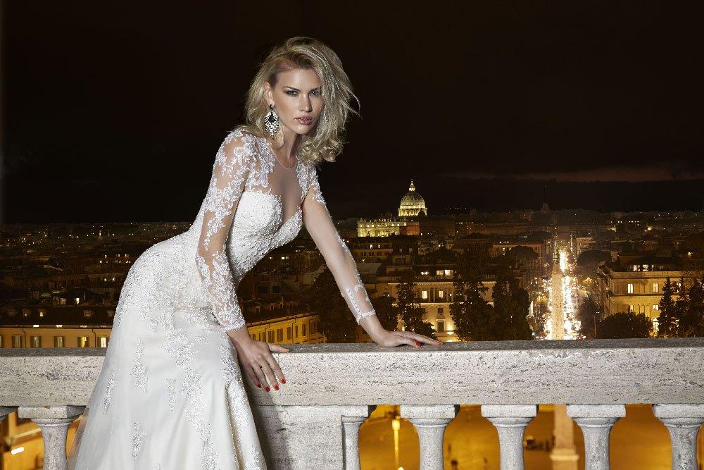 Come scegliere un abito da sposa a sirena