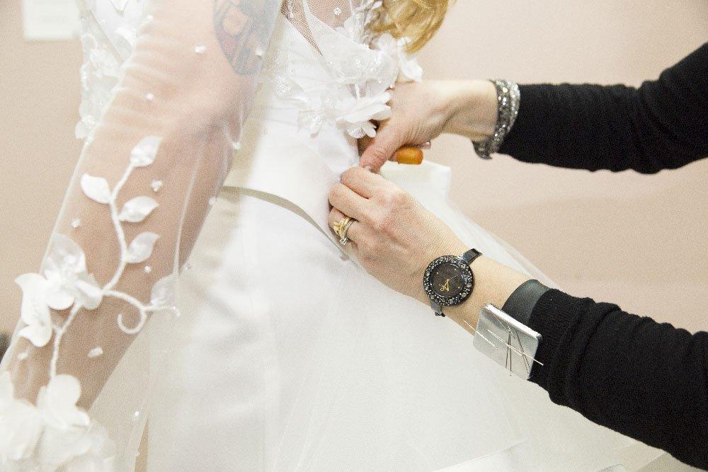 Le collezioni di abiti da sposa Radiosa per le spose di Anzio