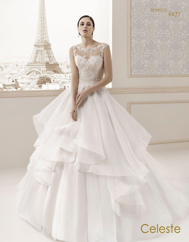 Celeste modello sposa 9927