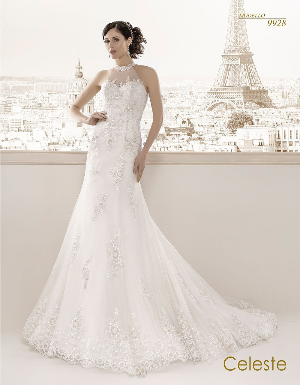 Celeste modello sposa 9928