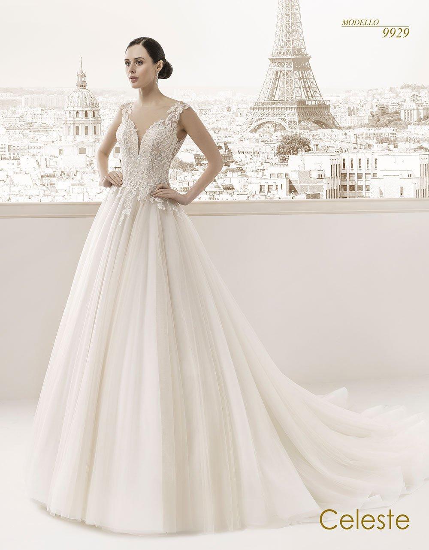 Celeste modello sposa 9929