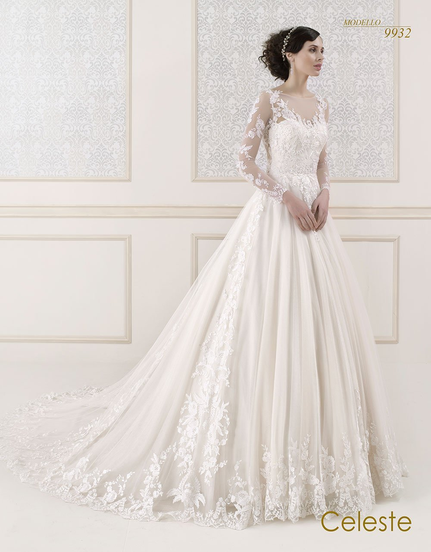 Celeste modello sposa 9932