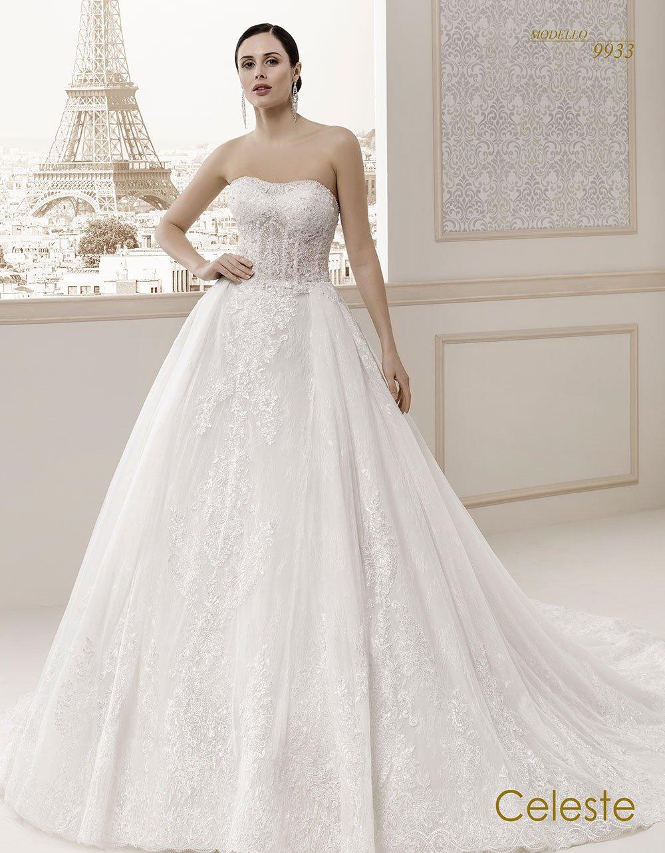 Celeste modello sposa 9933