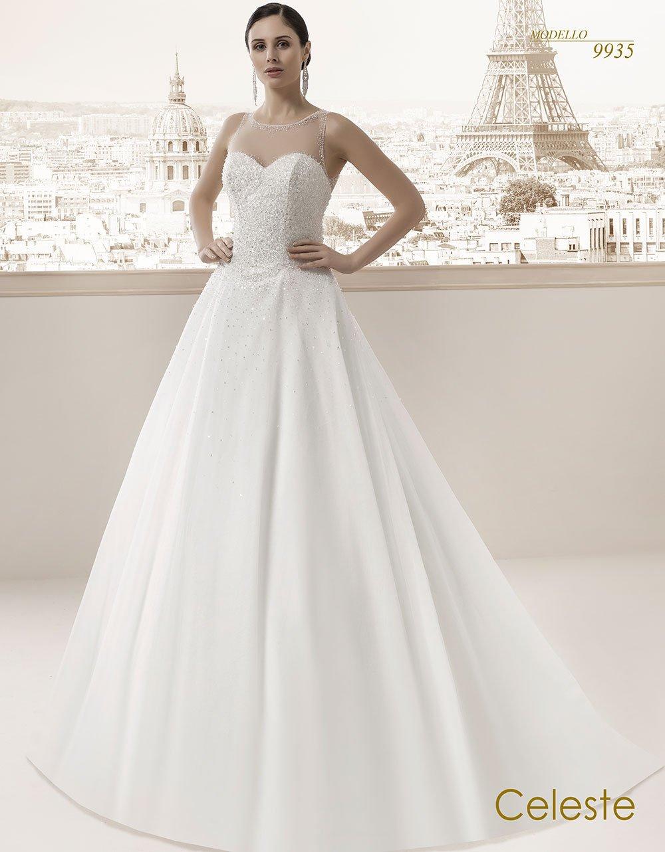 Celeste modello sposa 9935