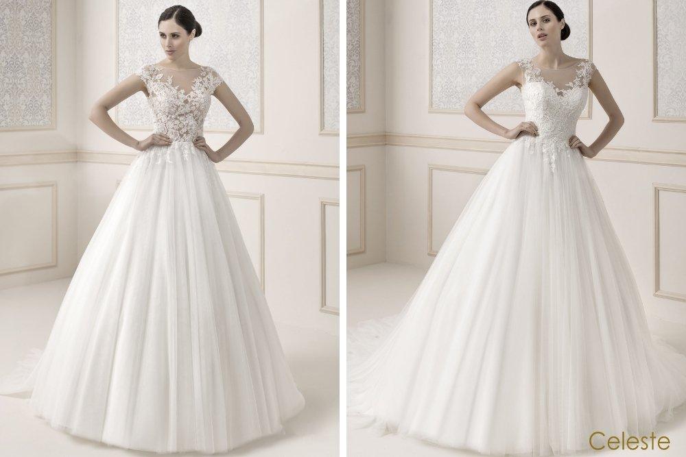 collezione abiti da sposa 2019 Celeste