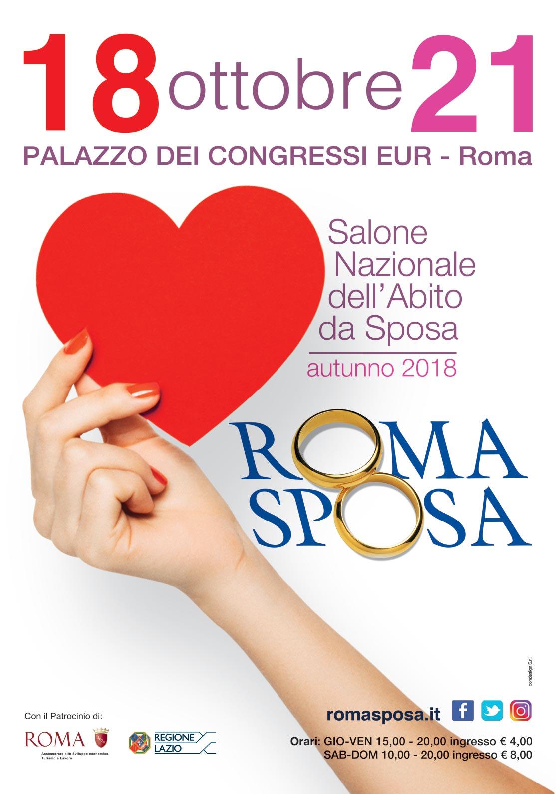 locandina roma sposa 2019